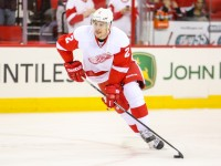 Detroit Red Wings Brendan Smith - Photo By Andy Martin Jr
