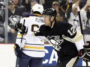 Kobasew scored two game-winners in his first two games as a Penguin. (Charles LeClaire-USA TODAY Sports)