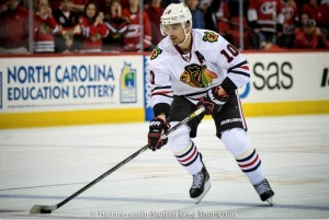 Patrick Sharp Blackhawks Wirtz
