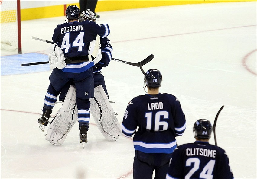 The Sharks suffered an agonizing defeat in Winnipeg to start the road trip.