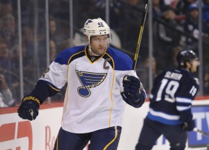 St. Louis Blues Captain