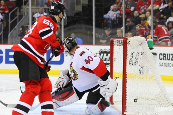 New Jersey Devils' Jaromir Jagr has been a pleasant surprise this season in New Jersey. (Ed Mulholland-USA TODAY Sports)