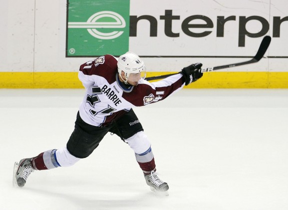 Tyson Barrie Falling Short of Expectations