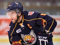 Aaron Ekblad is a strong contender for #1 overall in the 2014 NHL Draft (Terry Wilson/OHL Images)