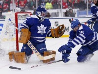Jonathan Bernier and James Reimer are each one half of the single biggest reason why the Maple Leafs sit third in the Atlantic Division (Rick Osentoski-USA TODAY Sports)