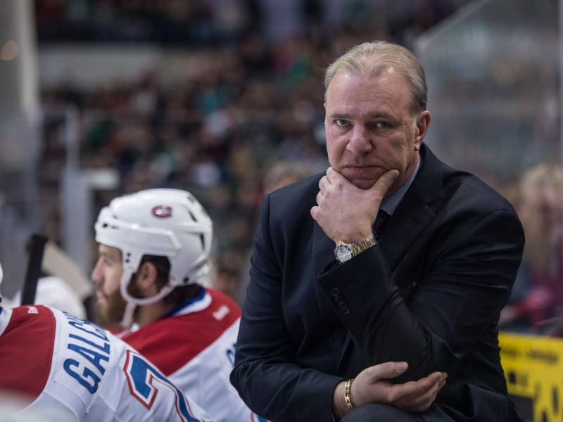 Michel therrien the man behind the bench