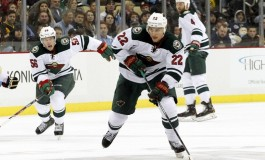 Minnesota's Nino Niederreiter: More Ice? Or on Thin Ice?