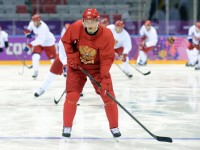 Pavel Datsyuk is fired up in Sochi (Jayne Kamin-Oncea-USA TODAY Sports)