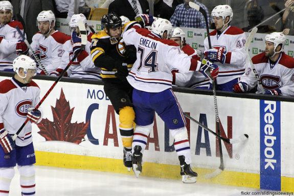 Milan Lucic, Bruins