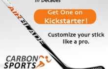You Won't Believe this New Hockey Stick Design