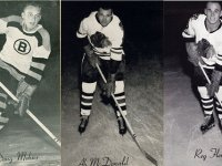 Doug Mohns traded to Chicago for Ab McDonald and Reg Fleming