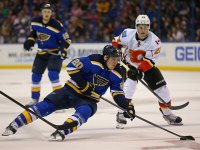 The Steen-Backes-Oshie line has been reunited (Billy Hurst-USA TODAY Sports)