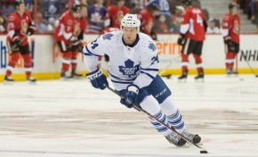 Leafs Woefully Under-Utilizing Peter Holland
