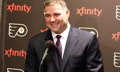 Flyers Captains Lindros Era to Lockout