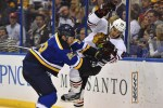 Cole has the second best plus/minus among Blues defensemen (Jasen Vinlove-USA TODAY Sports)
