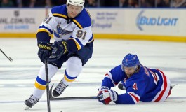 Will The Blues Keep Their STL Line Intact?