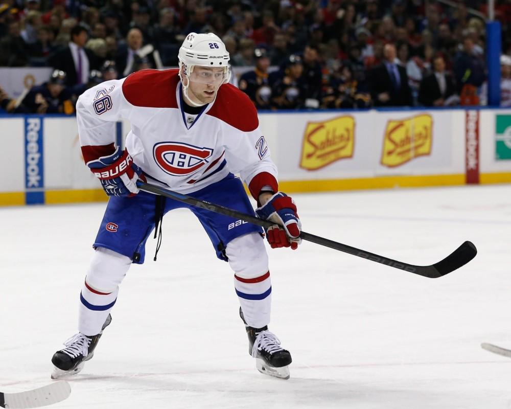 Jiri Sekac, NHL, Trade, Montreal Canadiens