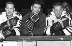 Bobby Hull, Stan Mikita, Bill (Red) Hay