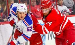 Hurricanes Killing Penalties Losing Games; 1-4 to Rangers
