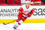 Detroit Red Wings right wing Luke Glendening (Photo Credit: Andy Martin Jr)