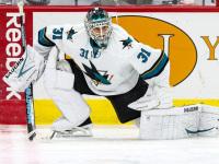San Jose Sharks goalie Antti Niemi  (Photo Credit: Andy Martin Jr)