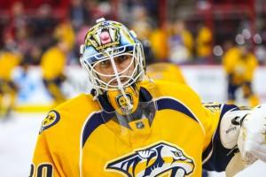Nashville Predators goalie Carter Hutton   (Photo Credit: Andy Martin Jr)
