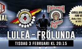 Luleå and Frölunda to Play in the CHL's Final
