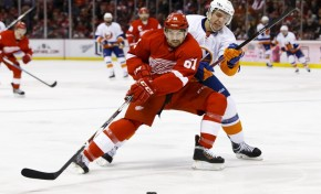 Detroit Red Wings Sign Xavier Ouellet to One-Year Contract Extension