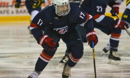 Highlights From US World Juniors Camp Inter-Squad Scrimmage