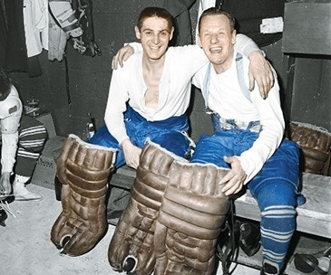 Terry Sawchuk, Johnny Bower, Toronto Maple Leafs