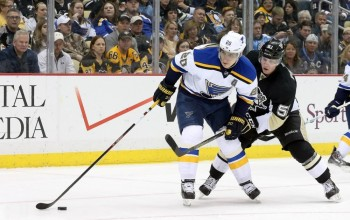A New Look For St. Louis Blues Camp