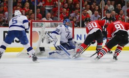 Hockey News: Ben Bishop and the Lightning Win Game 3