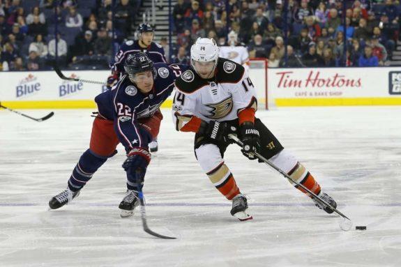 Anaheim Ducks center Adam Henrique