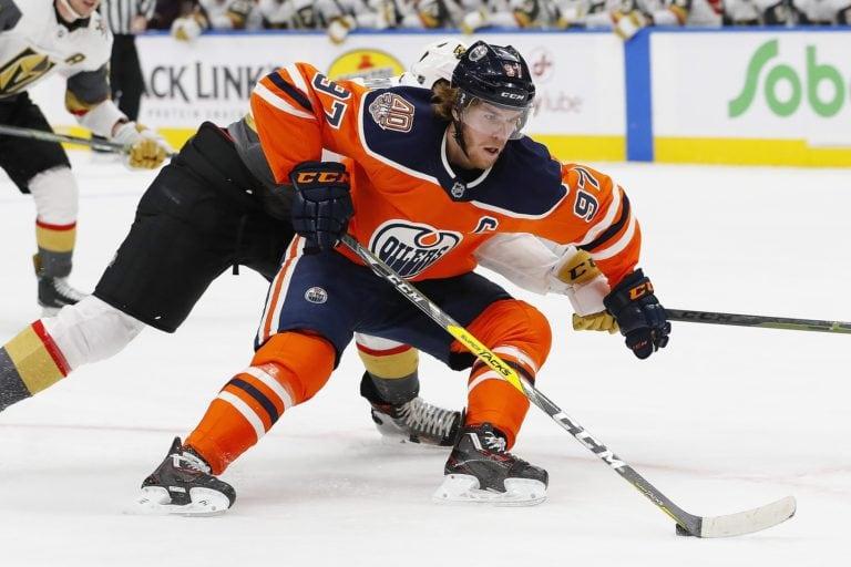 Oilers forward Connor McDavid