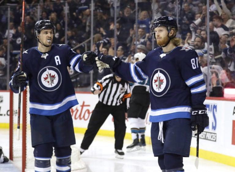 Winnipeg Jets Kyle Connor Mark Scheifele