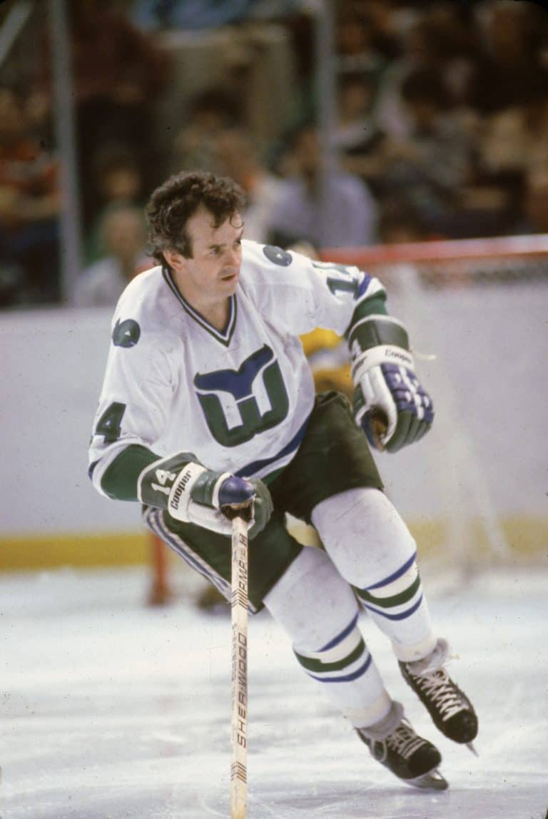 Dave Keon of the Hartford Whalers