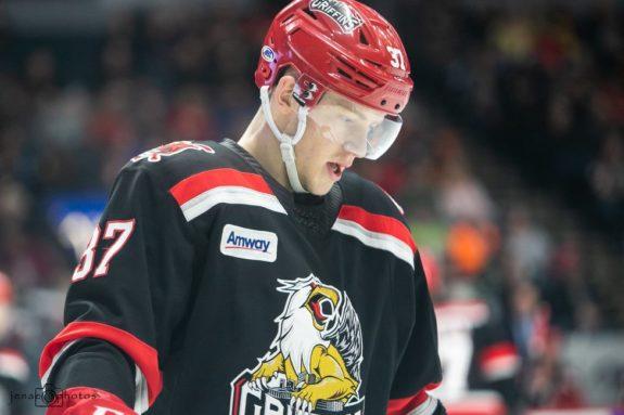 Evgeny Svechnikov of the Detroit Red Wings.