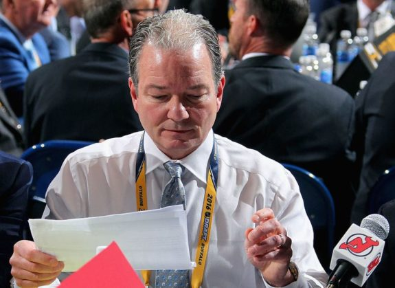 General manager Ray Shero