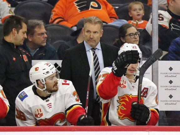 Geoff Ward Calgary Flames