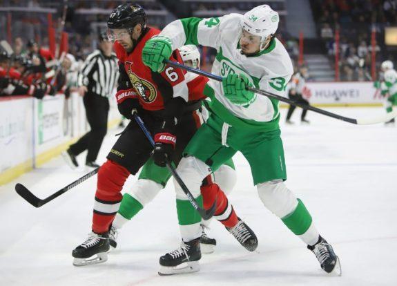 Ottawa Senators Ben Harpur Toronto Maple Leafs Auston Matthews