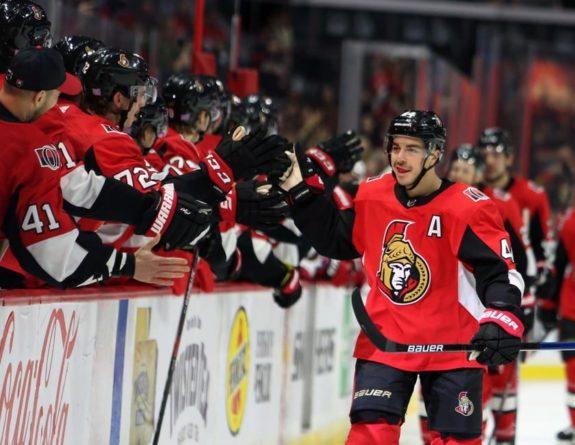 Jean−Gabriel Pageau Ottawa Senators
