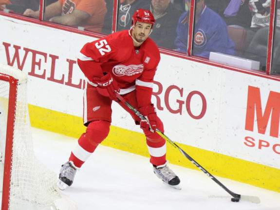 Jonathan Ericsson of the Detroit Red Wings.