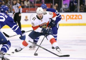 Jonathan Marchessault has been a major contributor in the early going for the Panthers. (Tom Szczerbowski-USA TODAY Sports)