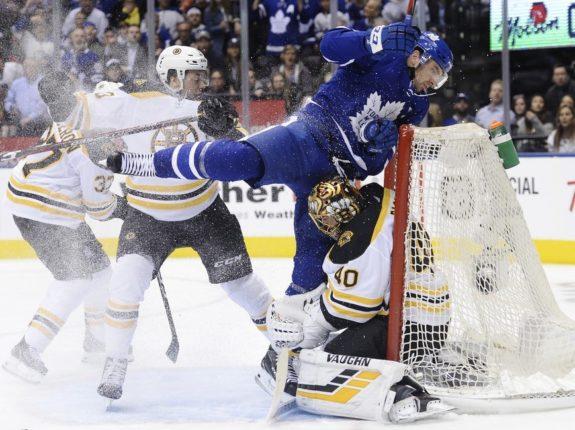Toronto Maple Leafs John Tavares Boston Bruins Tuukka Rask