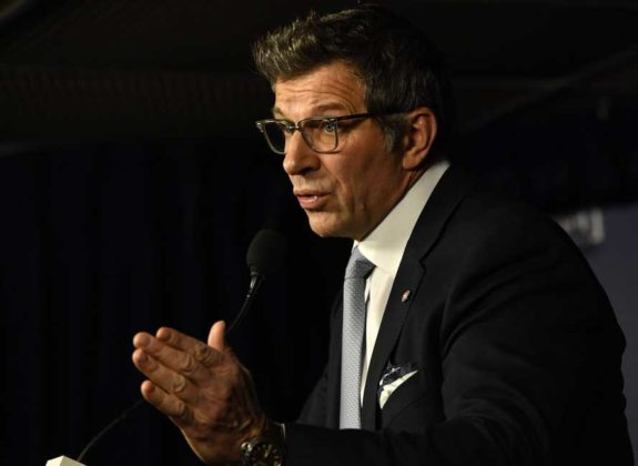 Montreal Canadiens general manager Marc Bergevin