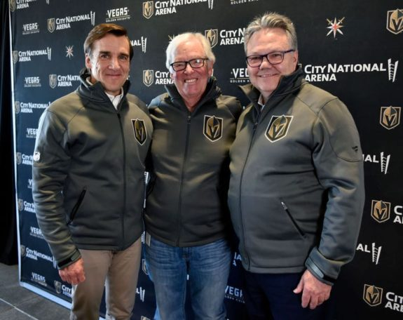 Vegas Golden Knights George McPhee Bill Foley Kelly McCrimmon