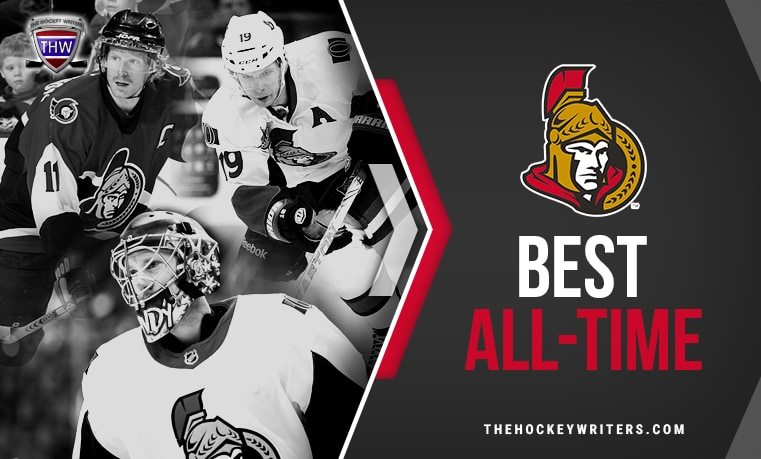 Ottawa Senators' Best All-Time