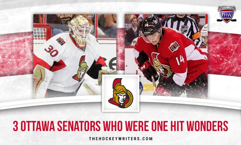 Colin Greening and Andrew Hammond 3 Ottawa Senators Who Were One Hit Wonders