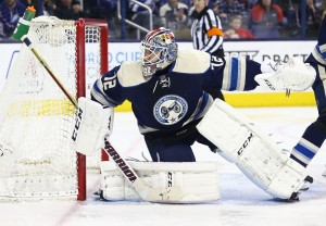 Sergei Bobrovsky must prove he can stay healthy for an entire season. (Aaron Doster-USA TODAY Sports)