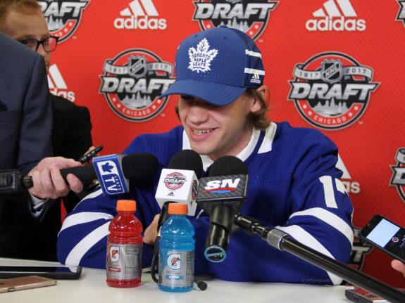 Timothy Liljegren, NHL Draft, Toronto Maple Leafs